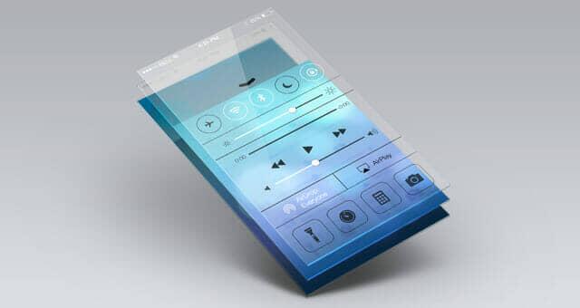 Transparent Perspective App Screen Mock-Up 5