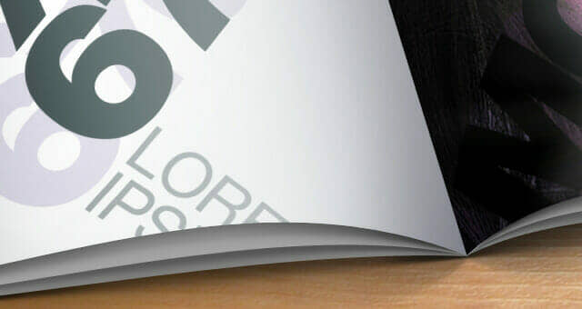Bold Horizontal Catalog Mockup