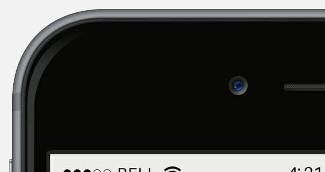 Detailed iPhone 6 Plus Mockup
