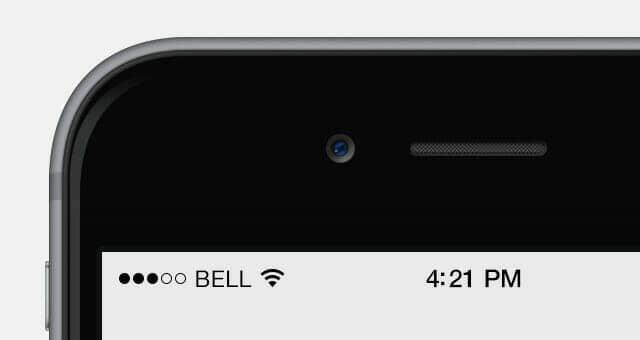 Bigger iPhone 6 Mockup