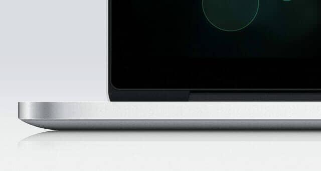 3 Realistic MacBook Pro Retina Psd Mockup