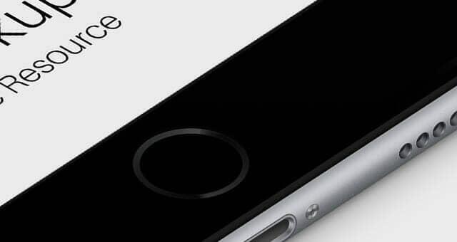 3D iPhone 6 Plus Mockup