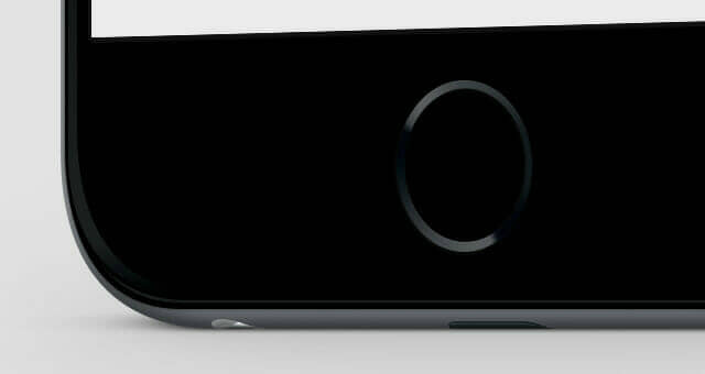 Standing iPhone 6 Plus Mockup