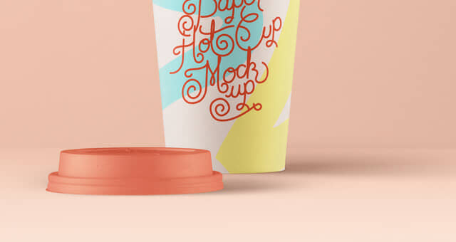 Hot Cup Paper Template
