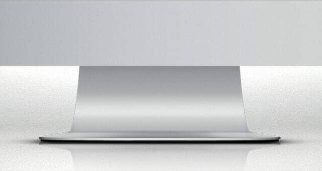 Vector iMac Psd Mockup Template