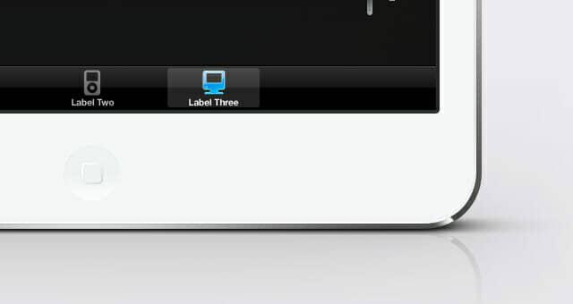 Scalable iPad Mini Psd Vector Mockup
