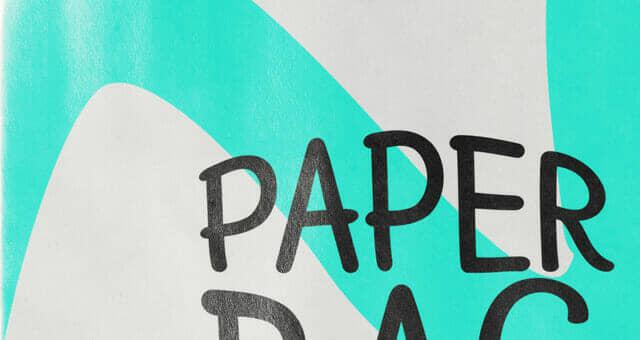New Paper Bag Mockup