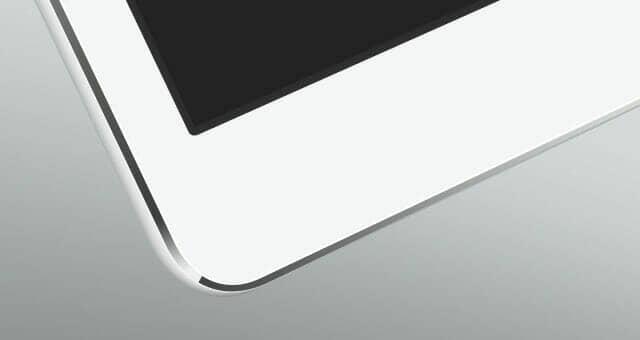 Floating iPad Air Mockup