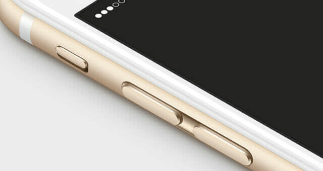 3D View iPhone 6 Mockup