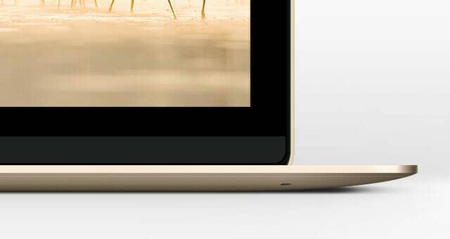 New Apple Macbook Mockup