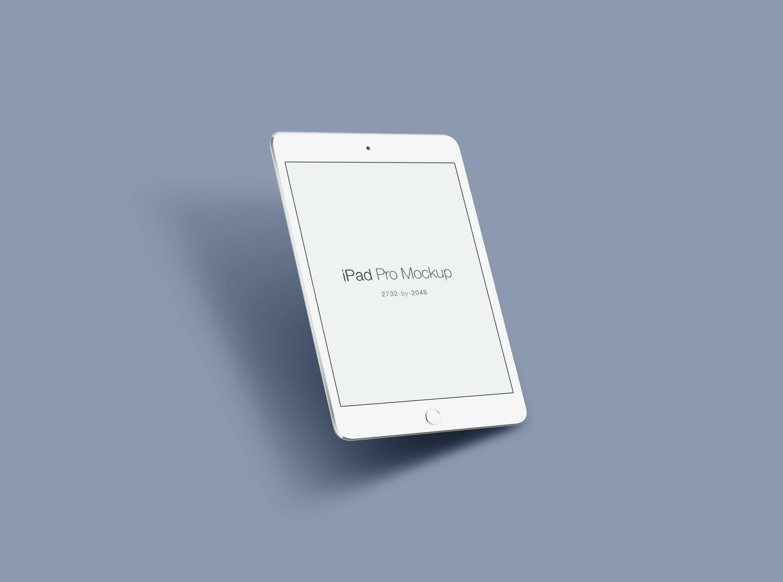 Simple iPad Pro Mockup