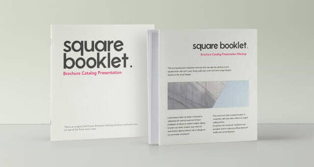 New Square Brochure Mockup
