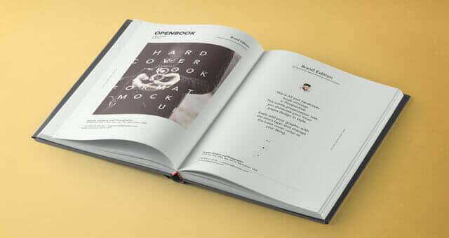 Dust Jacket Book Mockup