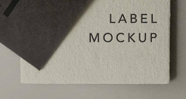 New Label Brand Mockup