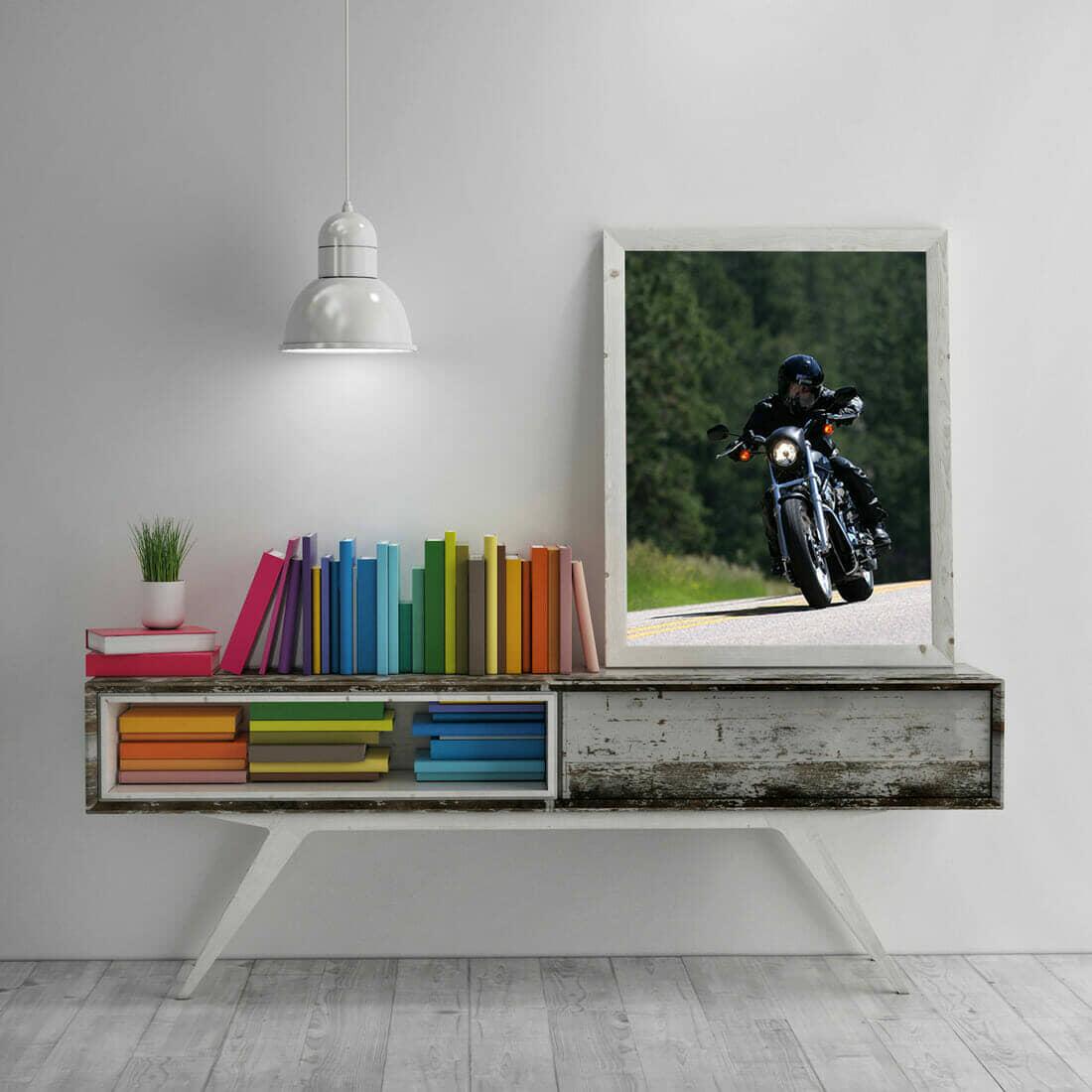 Simple Wooden Frame Mockup