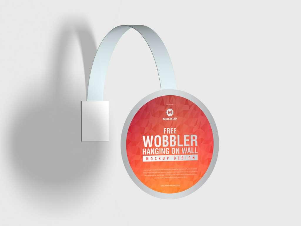 Free New Wobbler Mockup