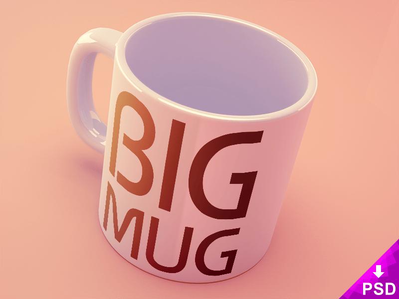 New Big Mug Mockup