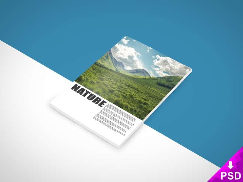 New Nature Book Mockup