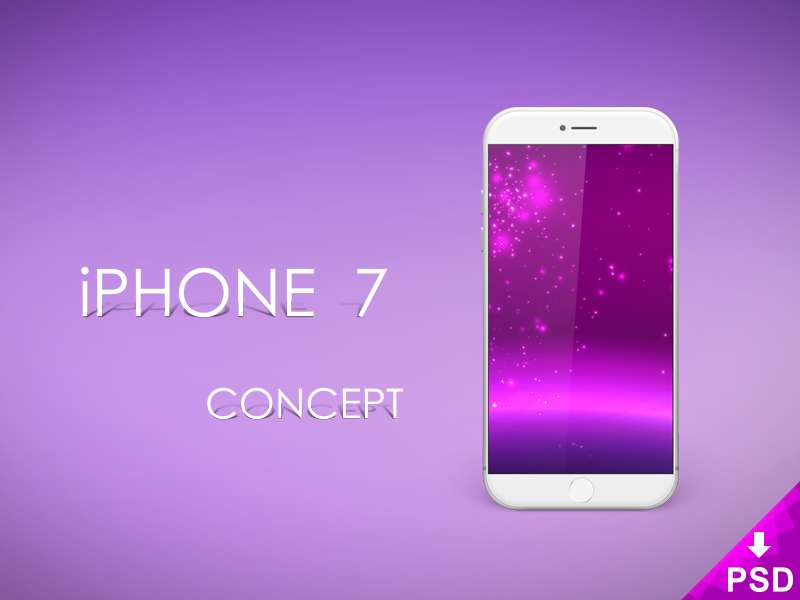 Apple iPhone 7 Concept Mockup