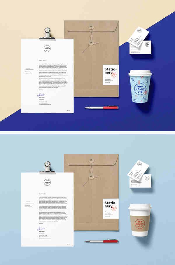 Stylish Branding Identity Mockup