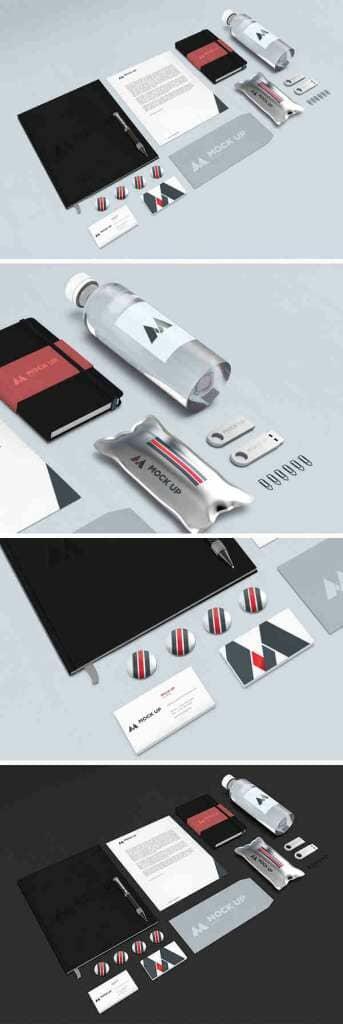 Corporate Branding Identity Mockup