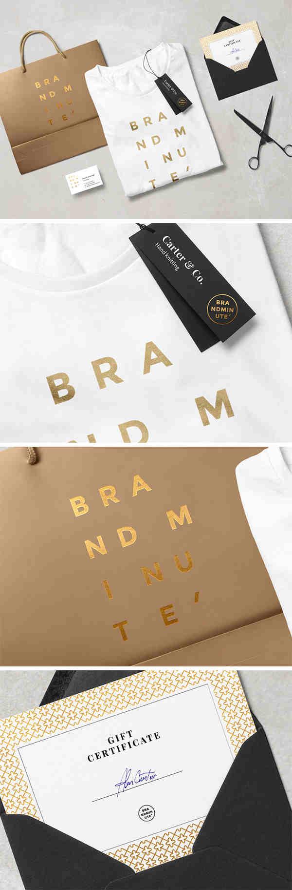 Brandminute Identity Mockup Scene