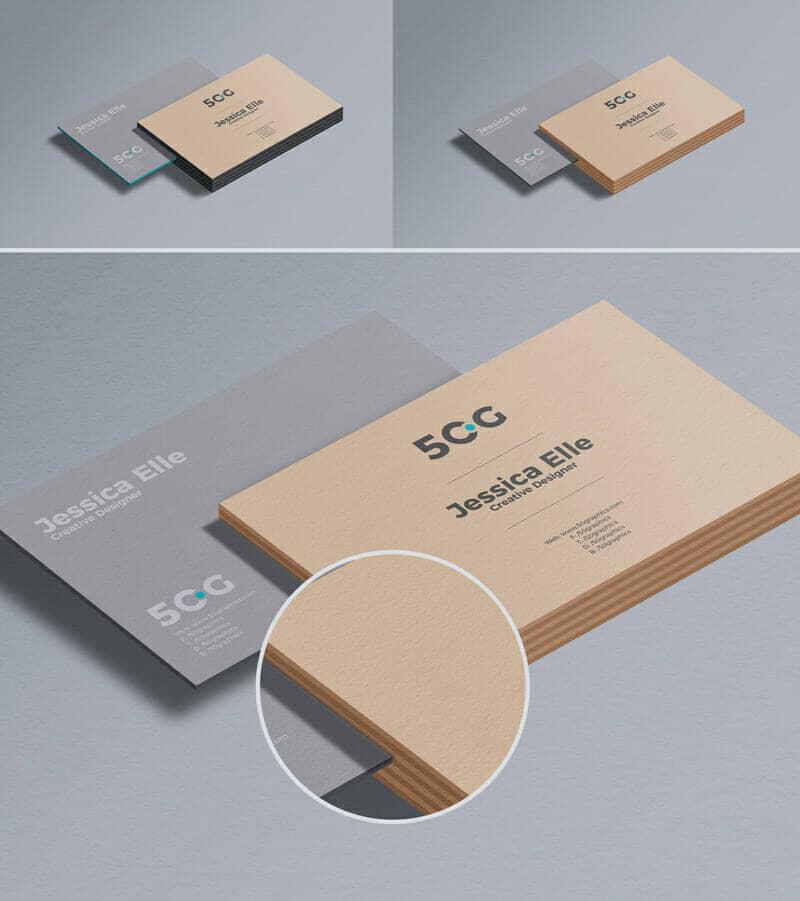 Free Business Card Mockup For Branding