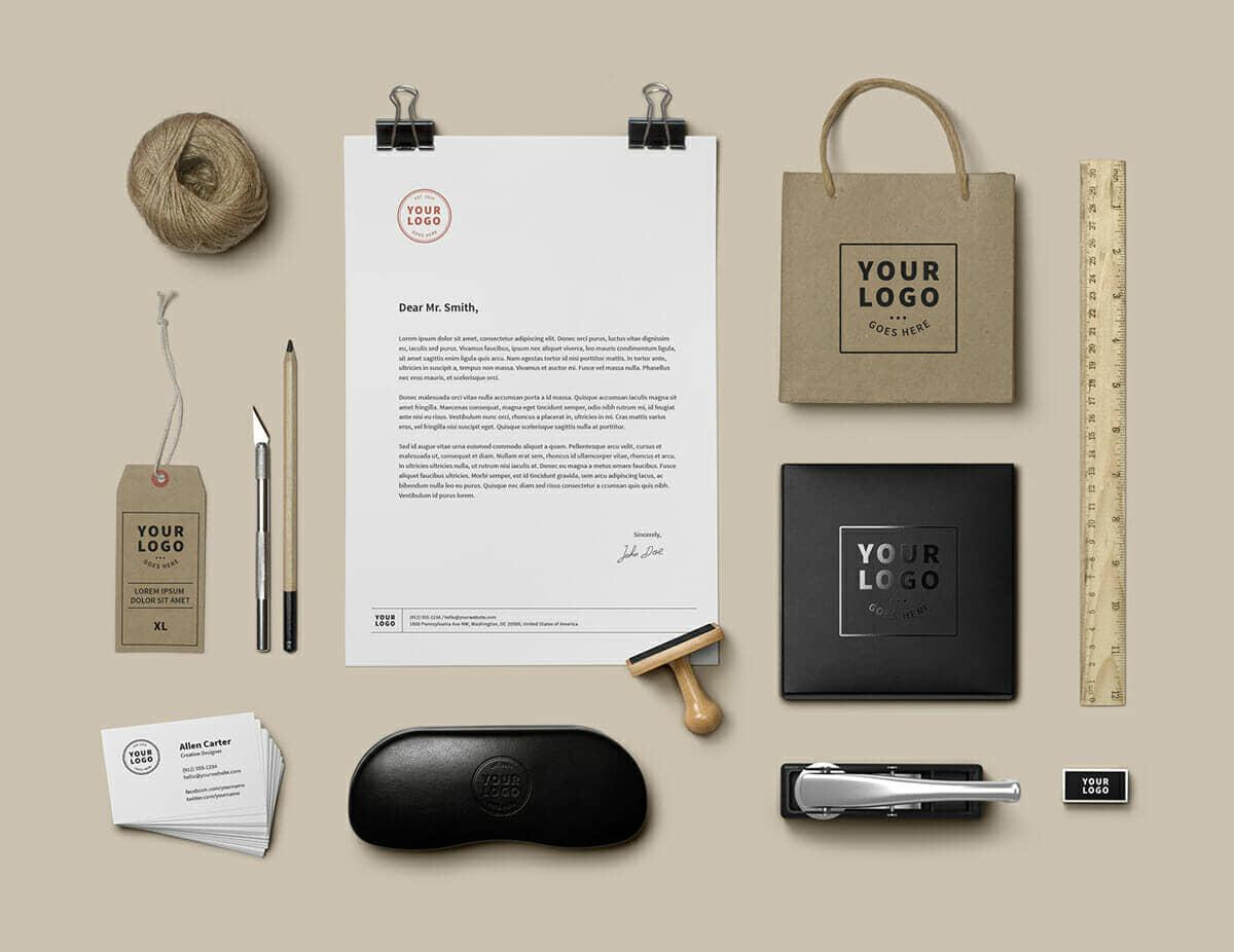 Creative Branding Stationery Mockup