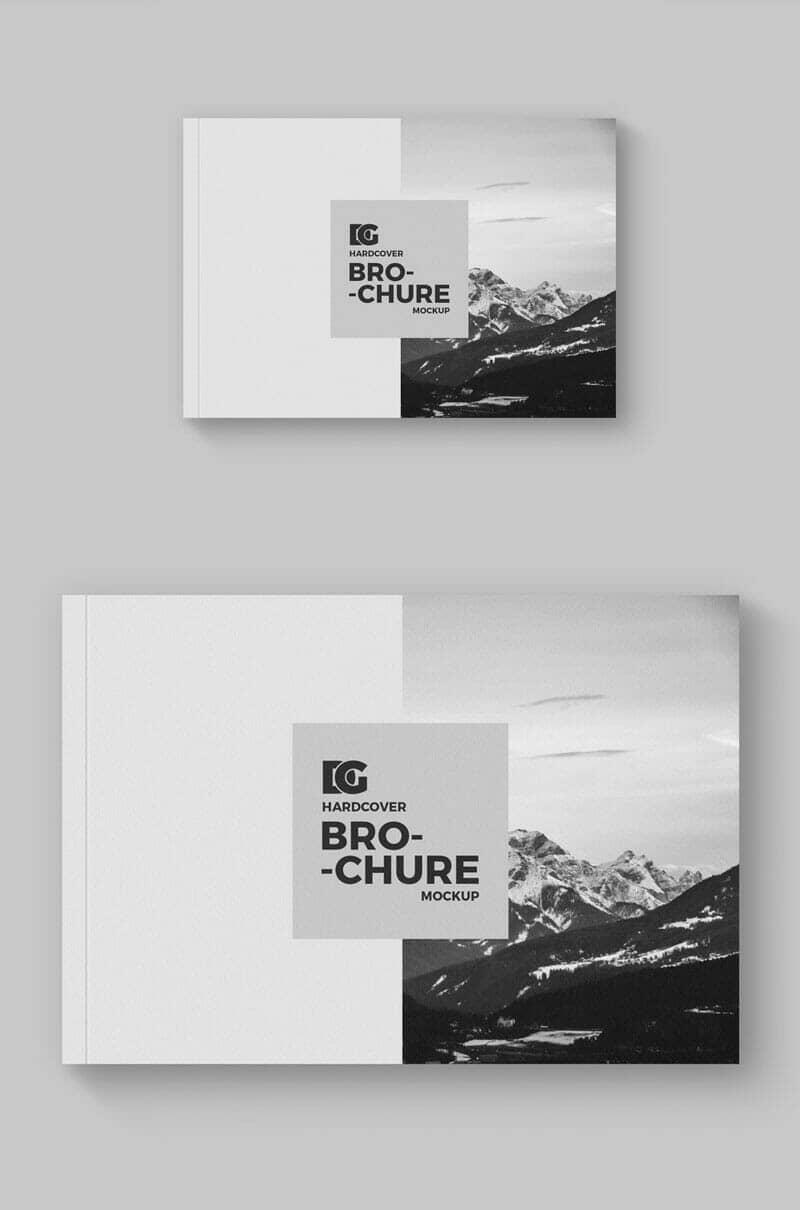 Horizontal PSD Brochure Mockup