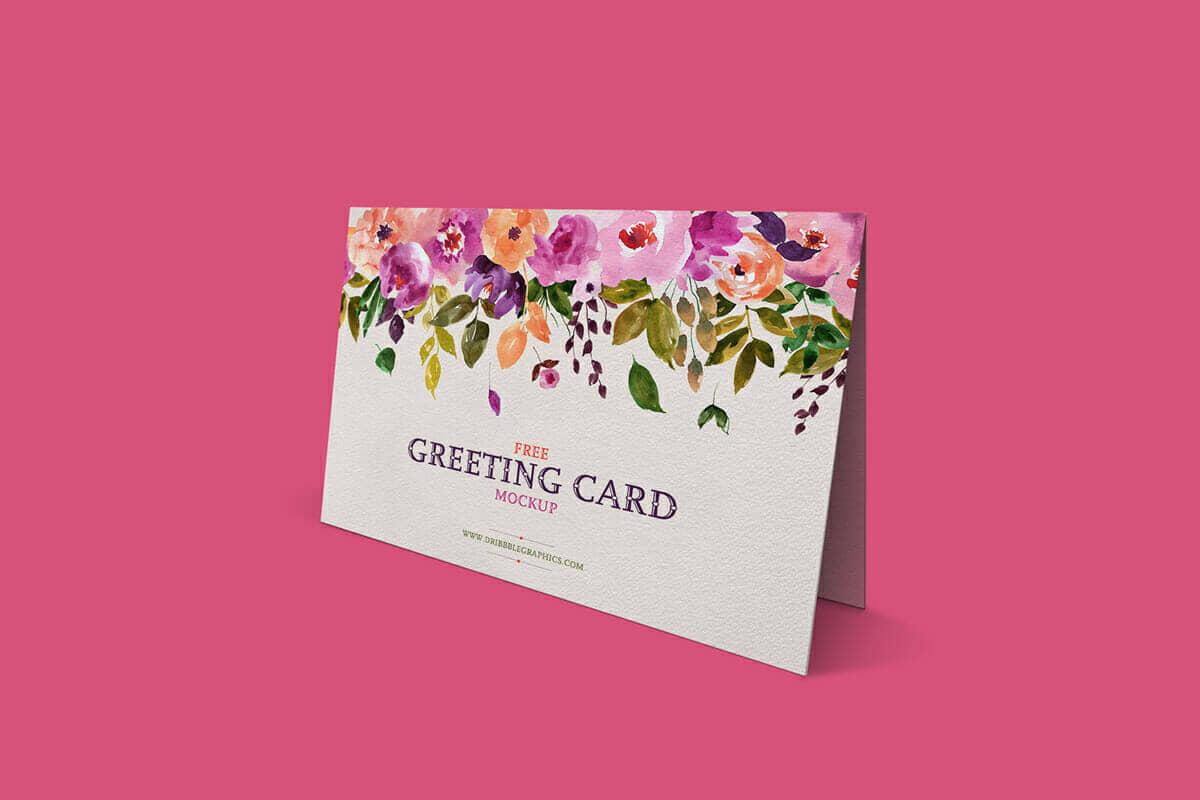 Lovely Greeting Card Mockup