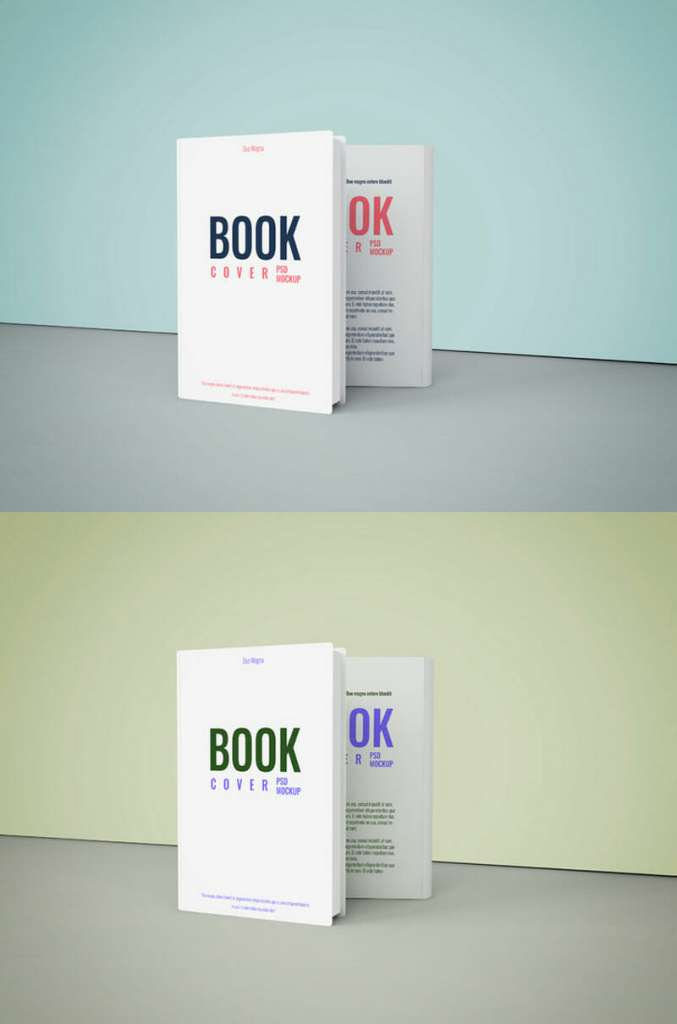 Book Cover Mockup To Showcase Book Cover Designs