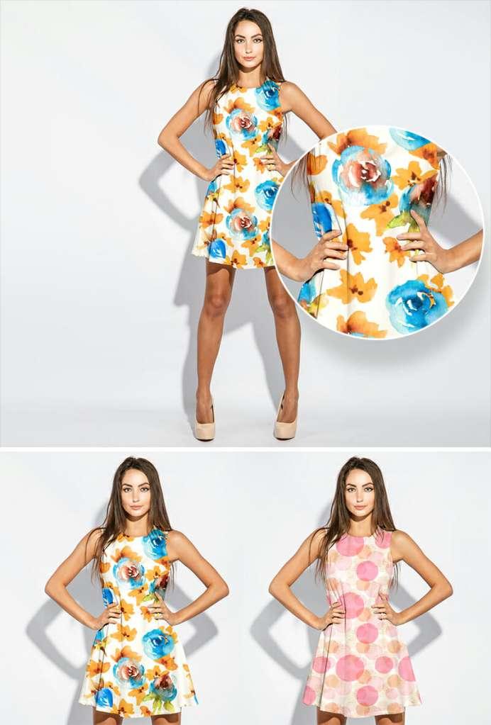 Dress Mockup For Fashion