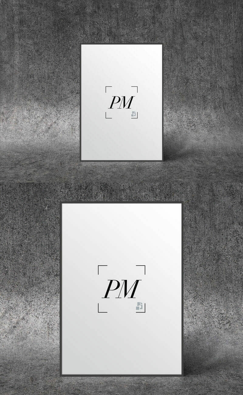 Poster Mockup To Showcase You Creative Posters