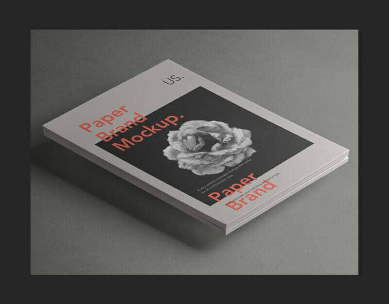 Paper Mockup For Branding