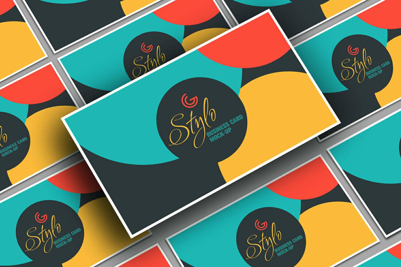 Stylo Business Card Mockup