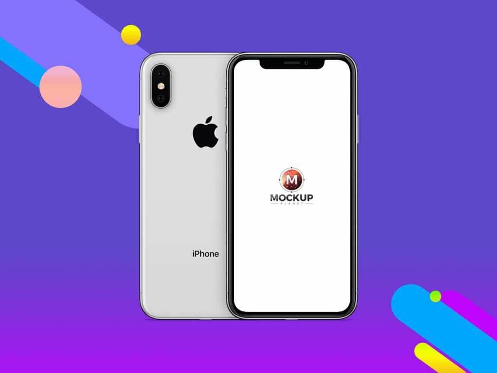 iPhone X Mockup For App Screens