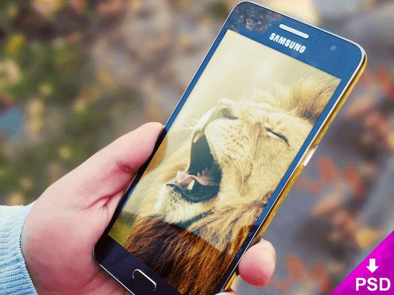 Elegant Samsung Galaxy Prime Mockup