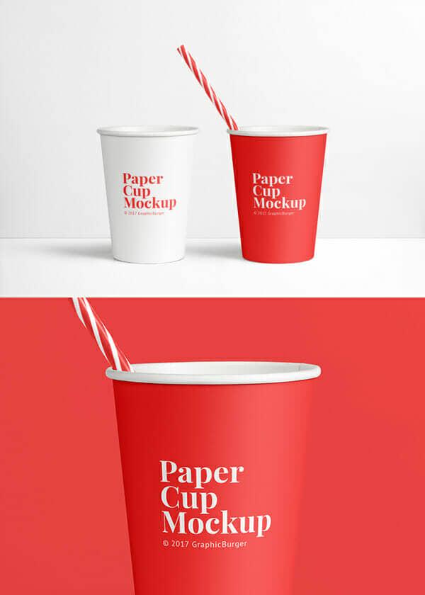 New Paper Cup MockUp