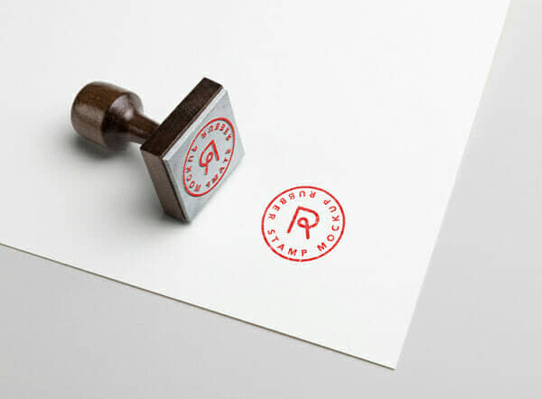 New Rubber Stamp Mockup