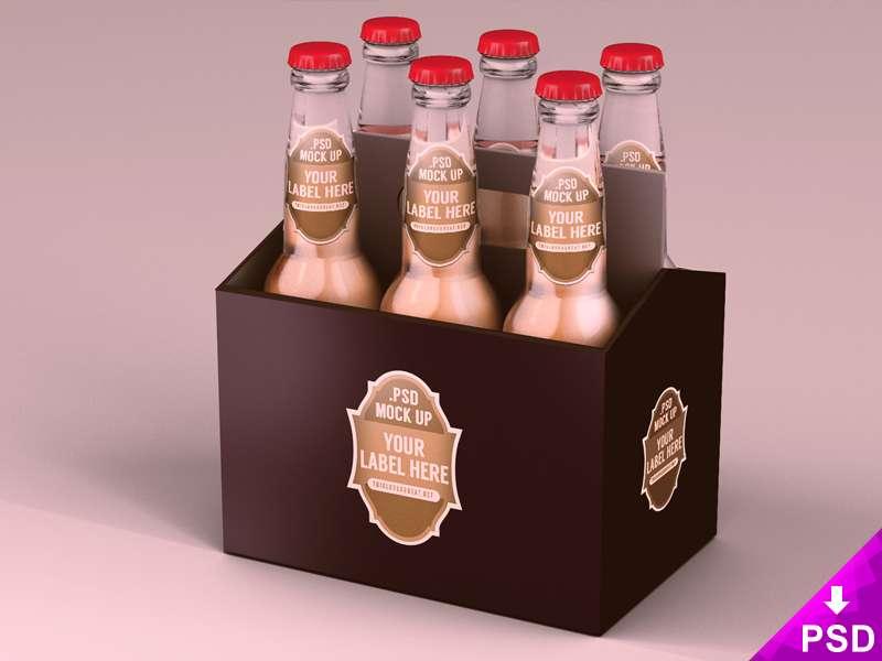 Pack of 6 Beer Bottles