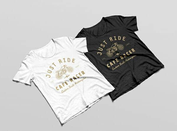 T-Shirt MockUp For Branding