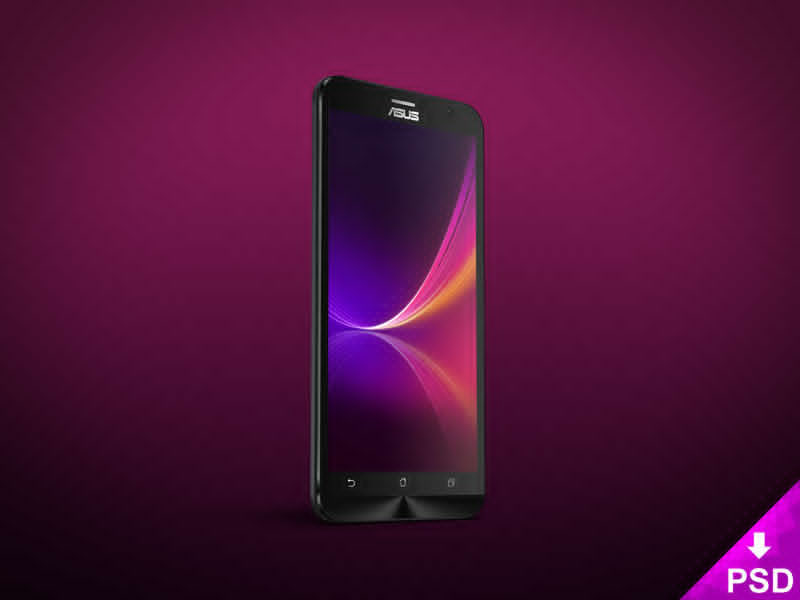 Android ASUS ZenFone 2 Mockup