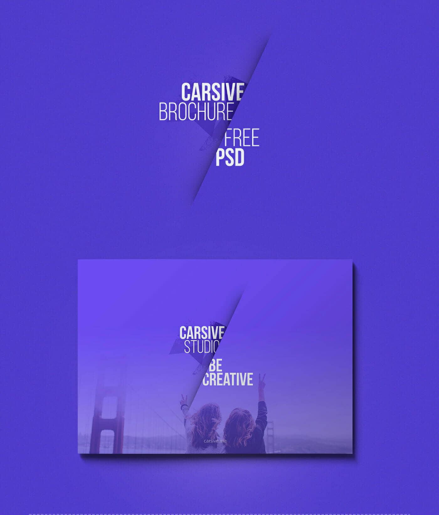 Carsive - 18 Pages Brochure Freebie