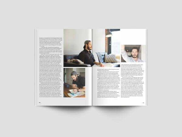 New A4 Magazine Mockup