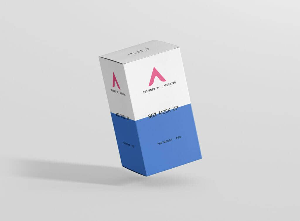 Rectangle Box Mockup Bundle