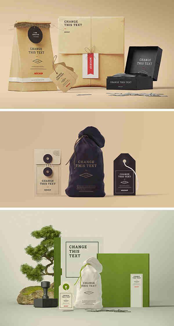 Neat Branding Identity Frontview Edition Mockup