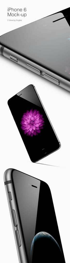 iPhone 6 Viewing Angles Mockup