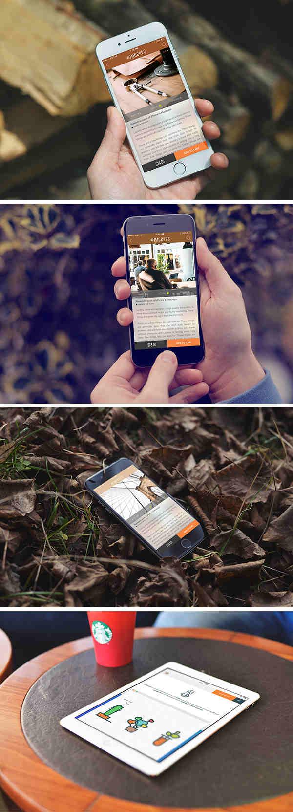 iPhone 6 & iPad Air 2 Photo Mockups