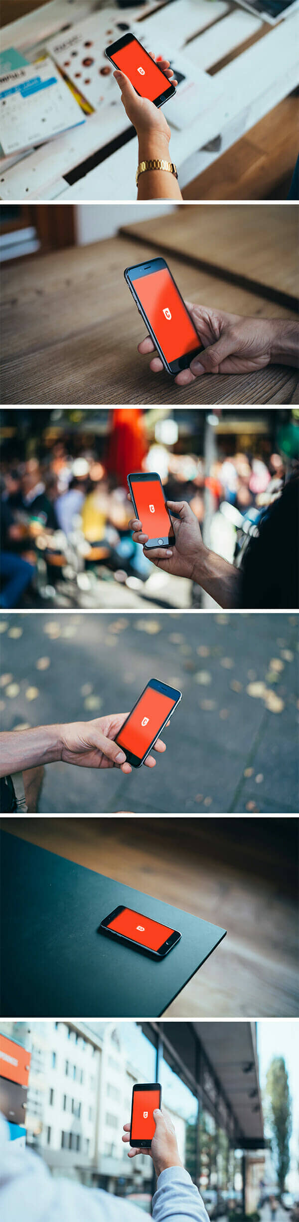iPhone 6 Photo Based Mockup Collection