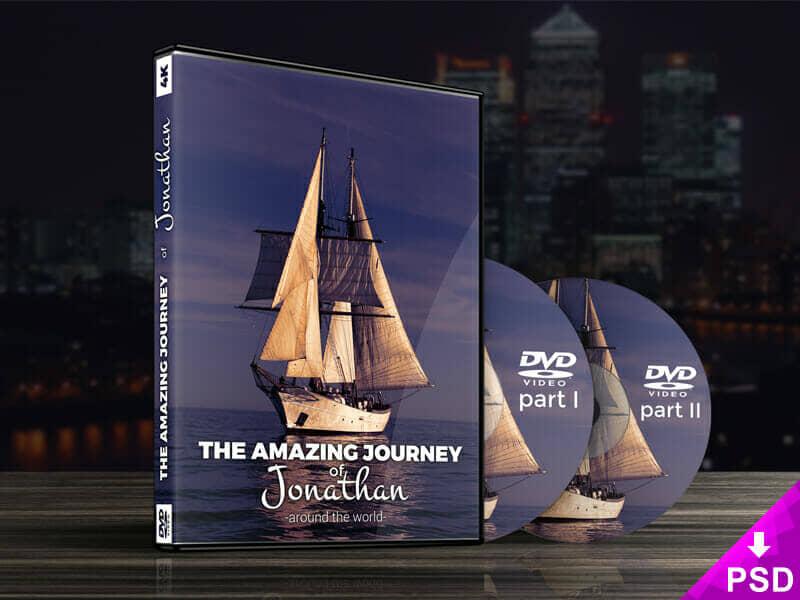 New DVD Case Mockup